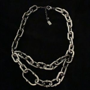 Kenneth Cole Mixed Metal & Crystal Necklace